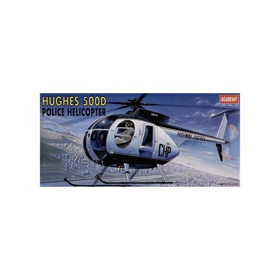 Academy 1643 Hughes 500D Police Helicopters