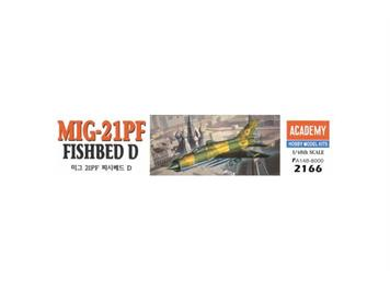Academy 2166 MiG-21PF Fishbed D