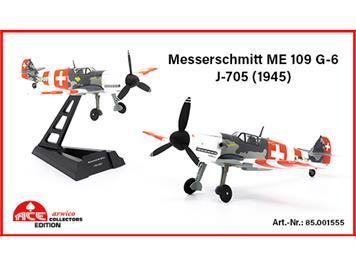 ACE 001555 Messerschmitt Me 109 G-6 (1945) J-705, Schweizer Luftwaffe, Massstab 1:72