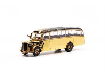 ACE 002009 Saurer L4C Alpenwagen Limited Edition Gold, Massstab 1:87
