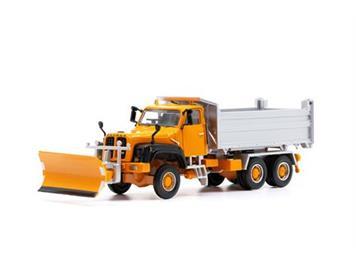 ACE 002331 Saurer D330N 6x6 Kipper Militär mit Schneeräumer