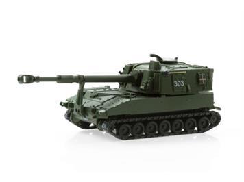 ACE 005013 Panzerhaubitze M-109 Jg 74 Langrohr uni K-Nr. 303, 1:87