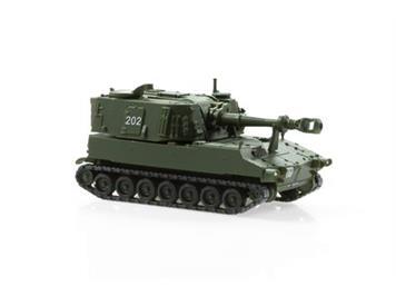 ACE 005015 Panzerhaubitze M-109 Jg 66 Kurzrohr unifarbig, 1:87