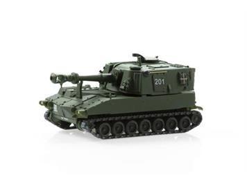 ACE 005016 Panzerhaubitze M-109 Jg 79 Langrohr camo K-Nr. 304, 1:87