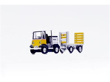ACE 008701 Arwico Collection Edition PTT Elektroschlepper mit Anhänger TR-5047e Nefag H0