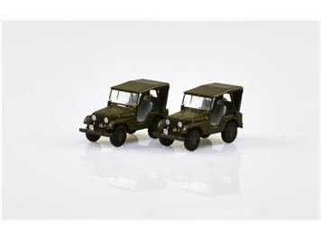 ACE Arwico Collection Edition 005105 Willy's Jeep Schweizer Armee (2 Stk.) CH HO