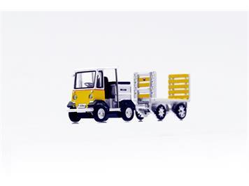 ACE Arwico Collection Edition 008701 PTT Elektroschlepper mit Anhänger TR-5047e Nefag HO