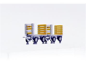 ACE Arwico Collection Edition 008702 PTT Gepäckwagen - Set mit 2 Stück, H0 1:87