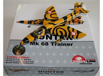 "ACE J-4206 Hunter Mk 68 Trainer ""HB-RVV Tigerpaint Version Altenrhein"""