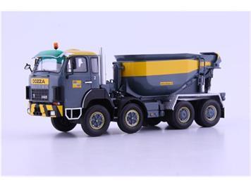 """Autocult AG / ATC 005512 Saurer D330B 8x4 Beton-Mulde """"Dozza"""" lim. Edition 1:43"""