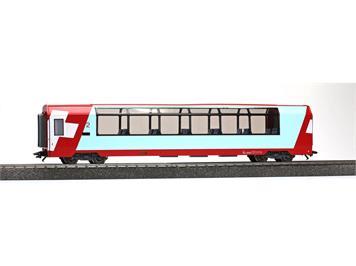 """Bemo 3589 128 RhB Bp 2538 """"Glacier-Express"""" Panoramawagen 3L-WS HO"""
