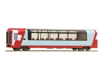 """Bemo 3689 102 RhB Api 1312 Panoramawagen """"Glacier Express"""" HO"""