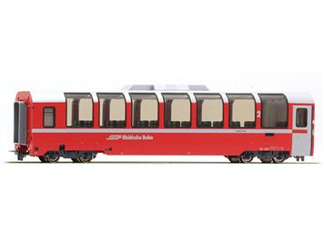 "Bemo 3694 131 RhB Bp 2521 Panoramawagen ""Bernina Express"" HO"