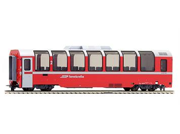 "Bemo 3694 132 RhB Bp 2522 Panoramawagen ""Bernina Express"" HO"