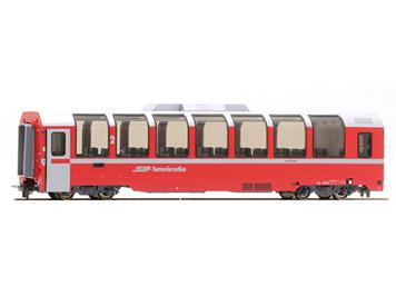 "Bemo 3694 135 RhB Bp 2525 Panoramawagen ""Bernina Express"" HO"