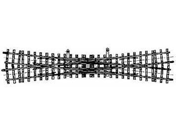 Bemo 4215 000 12° Doppelkreuzweiche, 220mm