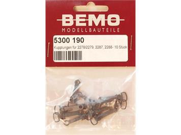 Bemo 5300 190 Kupplung (kurz) für 2278/2279/2288 (Ersatz für ehem. 2078), H0m (1:87)