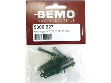 Bemo 5300 227 Kupplung für 3272, 3274 - 10 Stück