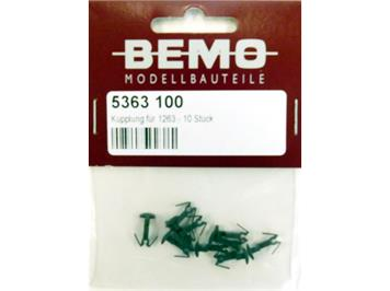 Bemo 5363 100 Kupplung für 1263 - 10 Stück