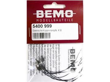 Bemo 5400 999 Elektrische Kupplungsköpfe (4 Stk.)