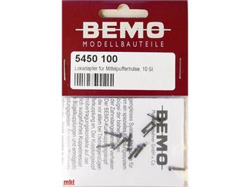 Bemo 5450 100 Kurzkupplung für Mittlpufferhülse 10 Stück (Ersatz für 5453 000)