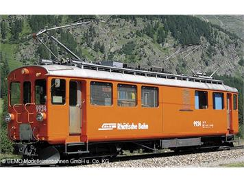 Bemo RhB Xe 4/4 9924 Bahndiensttriebwagen orange