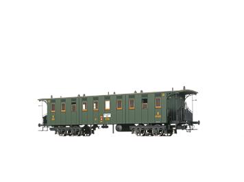 BRAWA 45065 PERSONENWAGEN C4, 3. KLASSE, DER SBB, H0