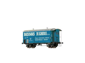 BRAWA 47879 H0 Güterwagen K2 SBB, III, Boissons Riviera, Montreux - Vevey (CH)