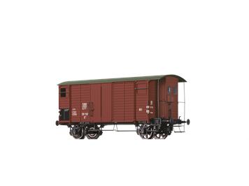 BRAWA 47880 H0 Güterwagen K2 SBB braun, III
