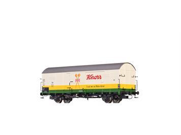 "BRAWA 48731 gedeckter Güterwagen Glr 22 DB ""Knorr"" DB HO"
