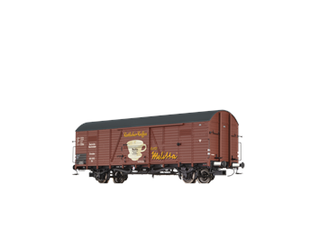 "BRAWA 48741 ged. Güterwagen Glr ""Melitta"" DRG HO"