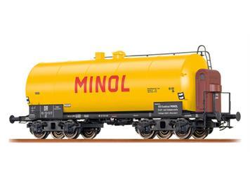 """BRAWA 48911 Leichtbaukesselwagen """"Minol"""" DR"""