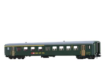 BRAWA 65234 SBB Personenwagen EWII AB, N (1:160)