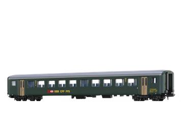 BRAWA 65235 SBB Personenwagen EWII B, N (1:160)