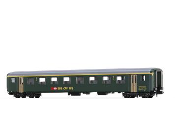 BRAWA 65237 SBB Personenwagen EWII A, N (1:160)