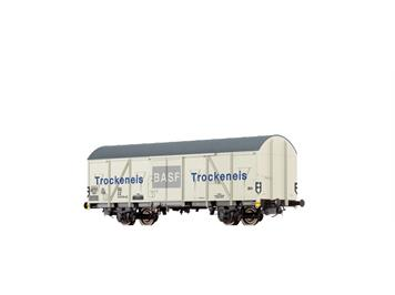 "BRAWA 67811 gedeckter Güterwagen Gbs-uv 253 ""BASF"" DB"