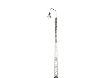 BRAWA 84035 Gittermastleuchte mit Stecksockel LED HO