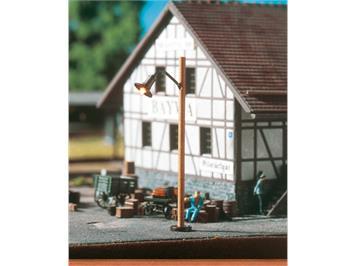 BRAWA 84061 LED Holzmastleuchte Stecksockel HO