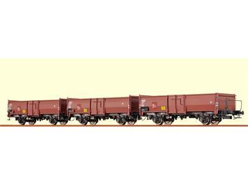 BRAWA Offene Güterwagen Omm52 SBB