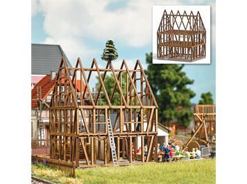 Busch 1370 Fachwerkhaus Rohbau, H0