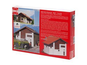 Busch 1442 Heidihaus (Bausatz) HO