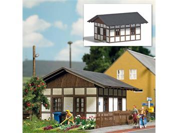 Busch 1662 Bahnwärterhaus - Aktion H0