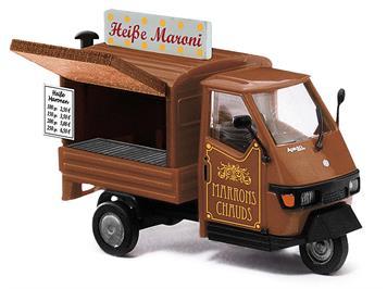 Busch 48495 Piaggio Ape 50 Maroni, H0