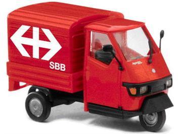 "Busch 60099.001 Piaggio Ape 50 ""SBB Beschriftung"""