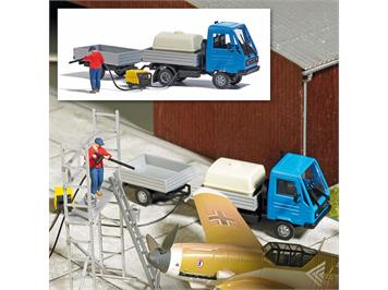 Busch 7884 Action Set: Mobile Reinigung, H0