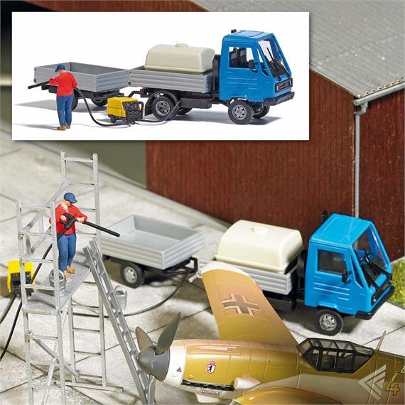 Busch 7884 Action Set: Mobile Reinigung, H0
