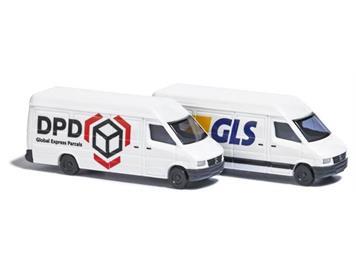Busch 8308 2 Mercedes Sprinter »GLS« und »DPD« N