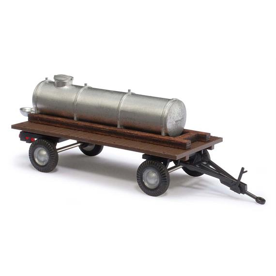 Busch landwirtschaftlicher Anhänger mit Wassertank (BJ 1958) HO