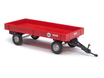 Busch landwirtschaftlicher Anhänger rot (BJ 1958) HO