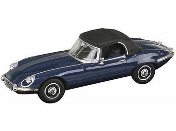 Busch/Ricko Jaguar E-Type Cabrio geschlossen blau (BJ 1971) HO